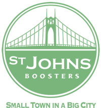 St Johns Boosters logo